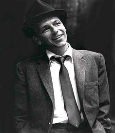 """Old Blue  Eyes"" --- Frank Sinatra"