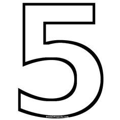 PrinterProjects.com Number Templates, Sunday School, Alphabet, Printables, Letters, Sabbath, Preschool, Preschools, Alpha Bet