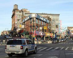 Mott Haven Intersection, Bronx, New York City