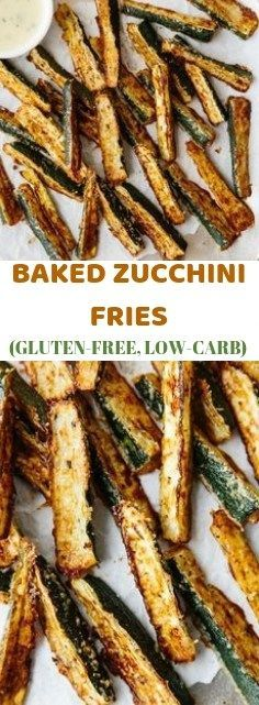BAKED ZUCCHINI FRIES (GLUTEN-FREE, LOW-CARB) – Tetra Side