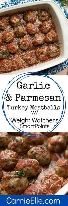 Weight Watcher Turkey Meatballs