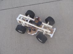 Build a RC Car from Common Materials
