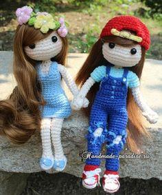 amigurumi crochet para muñecas de moda ♡