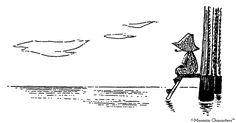 Happy Birthday Finland - 7 wonderful ways Finland influenced Tove Jansson's Moomin world - Moomin Tove Jansson, Moomin Tattoo, Moomin Books, Moomin Valley, Tattoo Inspiration, I Tattoo, Poke Tattoo, Finland, Tatoos