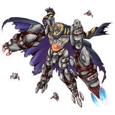 Es un Digimon tipo Mineral, en nivel Definitivo. Es el ultimo miembro de los BAN-TYO. Apariciones Digimon Collectors