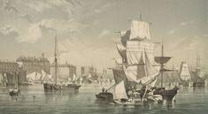 Port de Bordeaux - Bordeaux au 18e siècle - Bibliothèque municipale de Bordeaux