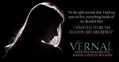 Vernal: A Royal Protector Academy Novel. Tristan Gallagher. Spring 2016. Promo designed By Hang Le.