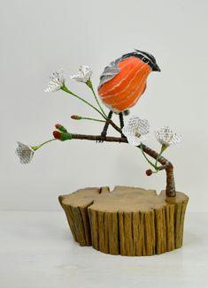 Bullfinch & Cherry Blossom