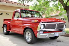 Bid for the chance to own a 1972 Ford Stepside at auction with Bring a Trailer, the home of the best vintage and classic cars online. Classic Trucks For Sale, Ford Classic Cars, Classic Cars Online, Mustang, Diesel, Ford Pickup Trucks, Toyota Trucks, Old Fords, Ford Bronco