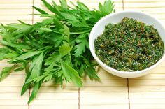 3 Herb Pesto Recipes using cilantro, parsley and mint instead of basil -- good use-up for fresh herbs!