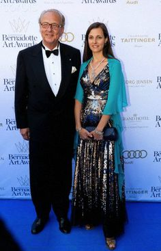 Eduard, Prince of Anhalt and Julia, Princess of Anhalt arrive for the Bernadotte Art Awards 2014 at the Grand Hotel in Stockholm, 02 June 2014.