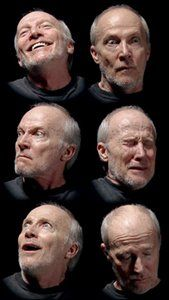 Bill Viola, Six heads, 2000