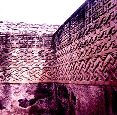 Mitla's geometric designs - Oaxaca - Mexico
