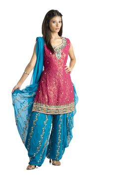 Dhoti | Home Shop Dhoti Suits Heavy Embellished Dhoti Style Party Dress
