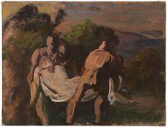 """Ugo Capocchini, Studio dalla """"Deposizione"""" di Tiziano"""