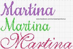 Quilling, Needlework, Alphabet, Cross Stitch, Names, Cross Stitch Love, Proper Nouns, Cross Stitch Letters, Embroidery Stitches