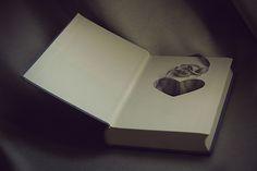 Cute heart ring book
