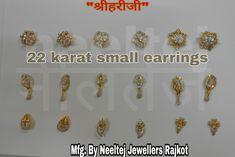 Kids Earrings, Small Earrings, Gold Earrings Models, Diamond Earrings, Bali Jewelry, Jewellery, Indian Wedding Photography Poses, Necklace Designs, Studs
