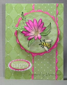 Happy using Stampin Up In Full Bloom