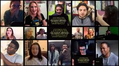 Some of the very first fans to react to the first teaser trailer of Star Wars: Episode VII - The Force Awakens. - Notable Mentions (mostly for my own referen...