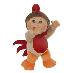 """Cabbage Patch Kids 9 inch Farm Cuties - Rocky Rooster - Wicked Cool Toys - Toys """"R"""" Us Child Doll, Baby Dolls, My Life Doll Accessories, Plush Craft, Jem Doll, Dolls And Daydreams, Ty Toys, Cabbage Patch Kids Dolls, Kids Store"""