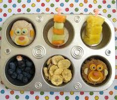 Healthy Snacks for Kindergartners... here's a great site with lots of ideas for kids!