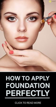How To Apply Foundation Perfectly  This! Is the perfect guide people!