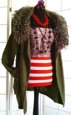 GINATRICOT * NEU * PARKA * Größe S * KHAKI * Leinen/Baumwolle * ohne Pelz in Kleidung & Accessoires, Damenmode, Jacken & Mäntel | eBay