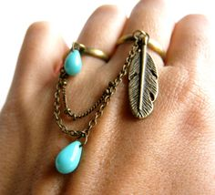 Double pirate ring