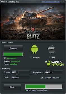 world of tanks blitz mod apk unlimited gold