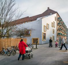 Children's Culture House Ama'r The design of the Children's Culture House Ama'r was conceived with the help of the children, whose fanciful ideas have helped to create a building that children of ages 0-18 years can call their own.