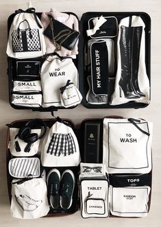 Carry On Suitcase, Carry On Luggage, Travel Luggage, Travel Bags, Suitcase Packing, Travel Organization, Organizing Bags, Wash Bags, Cloth Bags