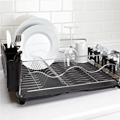 Przenośna i kompaktowa suszarka do naczyń. Dish Racks Kitchen Design. | Cleo-inspire