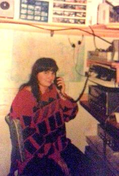 VK4FLT    Australia Here I can be seen working DX on the 11 metre band in 1991 ,