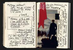 Pages d'un carnet de Fabienne Verdier
