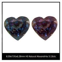 3.13cts NATURAL Alexandrite HS shape By K K Gem Investments Inc