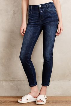 Closed Skinny Pusher Jeans  #anthropologie