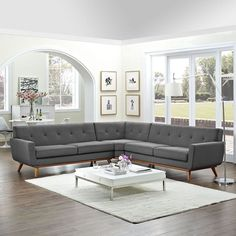 15 Comfortable L Sectional Sofa Design Ideas on Living Room - Home And Apartment Ideas Sofa Furniture, Living Room Furniture, Living Room Decor, Modern Furniture, Furniture Cleaning, Furniture Outlet, Cheap Furniture, Discount Furniture, Luxury Furniture