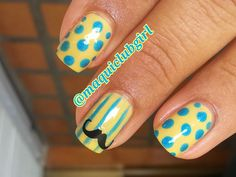 MAQUICLUB GIRL: MOVEMBER NAILS (MUSTACHES NAILS)