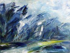 Ute Laum Kunst Diverse Landschaften Abstraktes Moderne expressiver Realismus                                                                                                                                                      Mehr