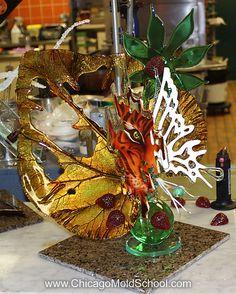 sugar sculpture from stephane treand's sugar class