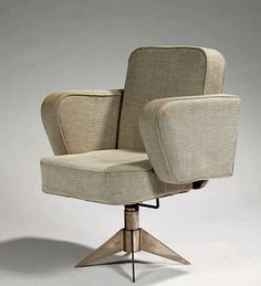 Louis Sognot & Charlotte Alix, Office Chair, c1930.