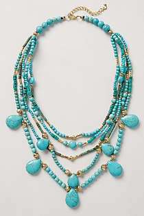 Anthropologie - Deluge Layered Necklace