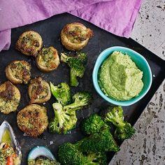 Bild på Bönröra med råstekt broccoli
