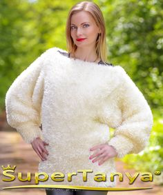 Made to Order by SuperTanya---------- *********************************************************************************** FLUFFY HAND KNITTED DECOFUR SWEATER by SuperTanya ******************************************************* Product Description: This brand new SuperTanya's hand knitted decofur creation is handmade from premium class soft and luxurious eyelash yarn. The decofur, together with mohair, cashmere, alpaca and angora is one of the world's most loved materials for making one o...