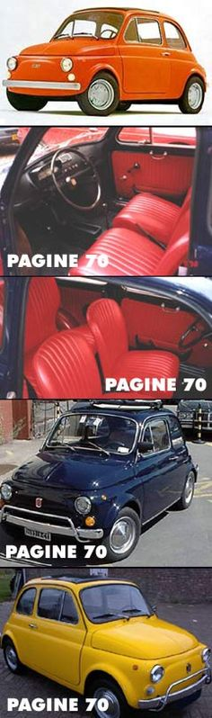 fiat 500 interiors