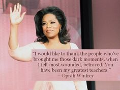 INFJs & THEIR QUOTES:  OPRAH WINFREY  FOR MORE CELEBRITY QUOTES & CONTENT EXCLUSIVE TO INFJ LIFESTYLE, FOLLOW US ON FACEBOOK.COM/INFJREFUGE.