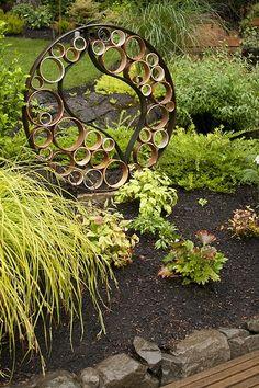 garden art: