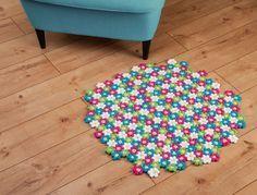Kostenlose Anleitung: Blütenteppich häkeln | buttinette Blog
