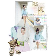Cotton Candy Dreams, created by bamaannie on Polyvore